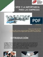 páginas  Web y la Importancia para las Empresas/Lehinobys Lafee Exposición Nro.07