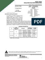 Texas Instruments SG3524N Datasheet