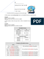 Reported Speech Exercises and Grammar