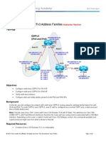 CCNPv7 ROUTE Lab3-3 OSPFv3-Address-Families Instructor