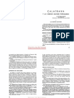 Calatrava y Las Órdenes Militares Portuguesas - Mauro Cocherin