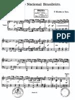 Partitura - Hino Nacional Brasileiro Piano