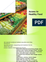 Access to Healthy Food