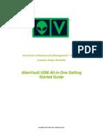 AlienVault USM AllinOne Getting Started Guide