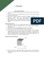 ProEngineer Tutorial - Part Models