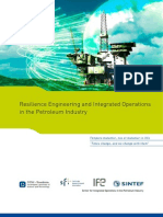 Resilience Engineering and Integrated Operations in the Petroleum Industry