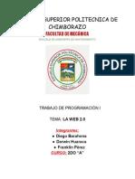ENSAYO DE LA WEB 2.0