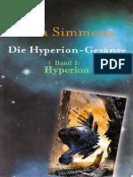 Simmons, Dan - Die Hyperion Gesänge 1 - Hyperion_DINA4