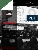 NEGOCIACIONES INTERNACIONALES Y CAMBIO CLIMÁTICO