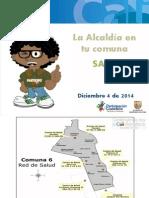 Salud Comuna 6 Balance Alcaldia en Tu Barrio