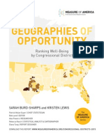 Geographies of Opportunity Measure of America