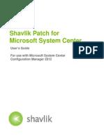 Shavlik Patch User Guide