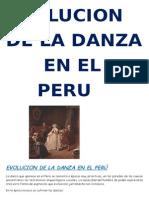 Evolucionde La Danza Peruana