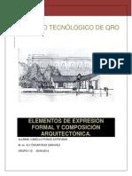 Metodologia Elementos de Expresion Formal y Composicion Arquitectonica