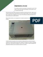 Desarmado Impresora HP4180