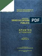 Tesina de Derecho Internacional Publico 2015