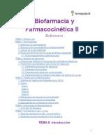 Biofarmacia y Farmacocinética II- Biofarmacia