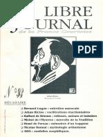 Libre Journal de la France Courtoise N°093