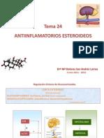 Tema 24 Antiinflamamtorios Esteroideos