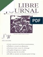 Libre Journal de la France Courtoise N°094