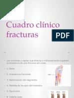 Cuadro Clínico Fracturas