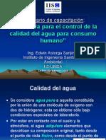 Normativa Agua Potable en bolivia