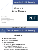 Chapter 4 Screw Threads