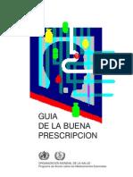 Guía OMS farmacología