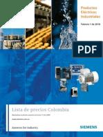 Lista Precios Siemens