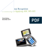 Software Revenue Recognition 2014 a Roadmap to Applying ASC 985-605