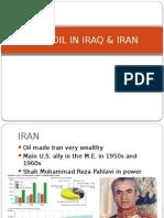 turmoil in iraq and iran