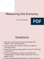 ch 13 measuring the economy
