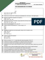 Lista 03 - Primeiros Anos - Gabarito - Equações Do Primeiro e Segundo Graus