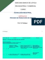 Proceso de Produccion Del Cemento