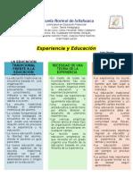 Experiencia y Educacion