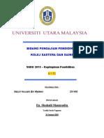Bidang Pengajian Pendidikan Kolej Sastera Dan Sains