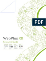 WebPlusX8 ResourceGuide En