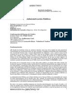 PROGRAMA Administración Pública