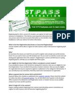 Student FAQ - Fast_Pass Registration 2015 Rev 2 27 2015