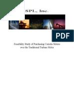 corliolis feasibility study