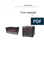 proex Power meter User mannual