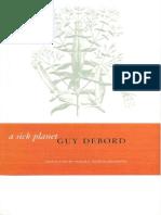 Guy Debord a Sick Planet