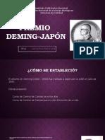 Premio Deming sistemas de calidad