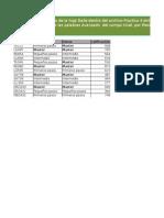 Práctica 04 Excel