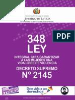 Ley 348 Decreto