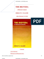 Rig Veda a Historical Analysis- By Shrikanth Tallageri