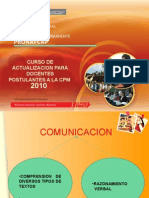 Presentacion Comunicacion Cpm
