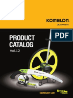 Komelon Full Line Catalog 2014