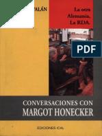 Conversaciones Con Margot Hoenecker