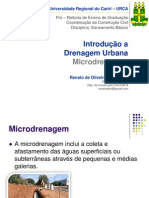 Drenagem Urbana Microdrenagem